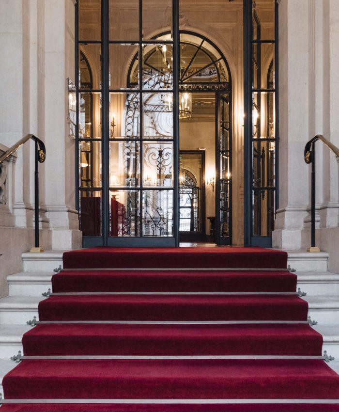 Fondation Cino del Duca, dans un hôtel particulier rue Alfred de Vigny dans le 8e arrondissement de Paris, accolé au parc Monceau  Propriété de l'Institut de France